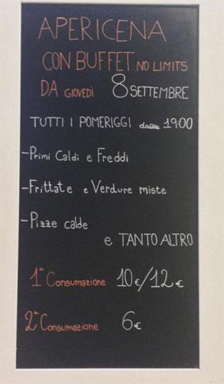Caffe Crociani - Wine Bar - Aperitivo Buffet Vino Grappa Spumante Champagne 11 - Menu